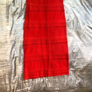 New York & Company Dresses - Final  💲 ✂️ New York & Co. red knit midi dress
